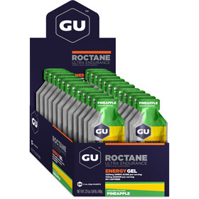 GU Energy Roctane Energy Gel Box 24x32g Pineapple